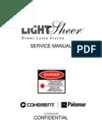 LightSheer LS Service Manual