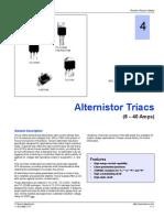 Alternistor Triacs (6-40 Amps)