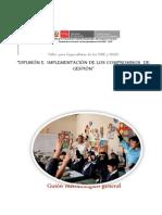 Guión Metodológico Taller de Implementación Compromisos de Gestión 3101