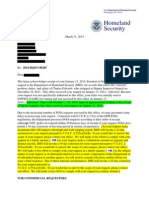 DHS Template FOIA letter