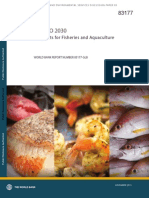 Fish to 2030 - Prospects for Fisheries and Aquaculture