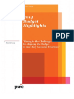 2014 Budget Highlights -Final