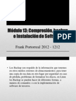 BackUp, Instalacion Linux