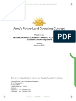 Adaptive Campaigning-future Land Operating Concept