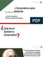 Presentación Francisco Prada Gobierno Corporativo - Fundación Bavaria