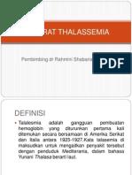 Referat Thalassemia Bismillah