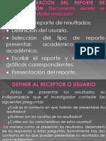10.- Elaboracion Del Reporte de Investigacion