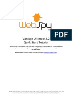 Vantage Ultimate 2.2 Quick Start Tutorial