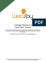 Vantage Ultimate 2.2 Quick Start Tutorial