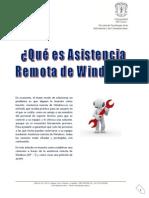 Asistencia Remota Windows