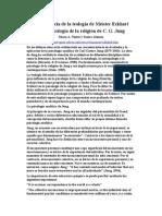 Meister Eckhart en la psicología religiosa de Jung
