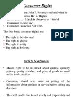 Consumer Rights 1-4