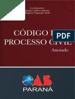 CPC ANOTADO - OAB PARANÁ 2013 - JURISP STF STJ