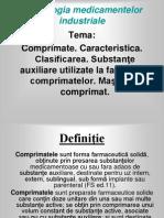 Tema.9 Comprimate