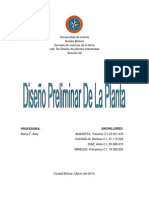 lab. de planta diseño preliminar de la planta