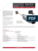 GD10L IR Open Path Hydrocarbons PDS