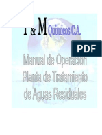 Manual de tratamientos de planta de aguas residuales