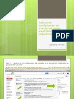 Manual de configuracion de cuentas de correo electrónico en dispositivos móviles