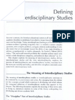 Defining Interdisciplinary Studies-Repko 2008