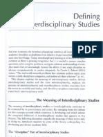 Defining Interdisciplinary Studies-Repko 2008