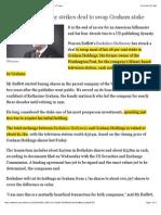 BRK_13Mar2014_FT_Berkshire Hathaway Strikes Deal to Swap Graham Stake - FT.com
