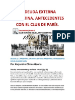 LA DEUDA EXTERNA ARGENTINA. ANTECEDENTES CON EL CLUB DE PARÍS. A. O.GAONA.docx