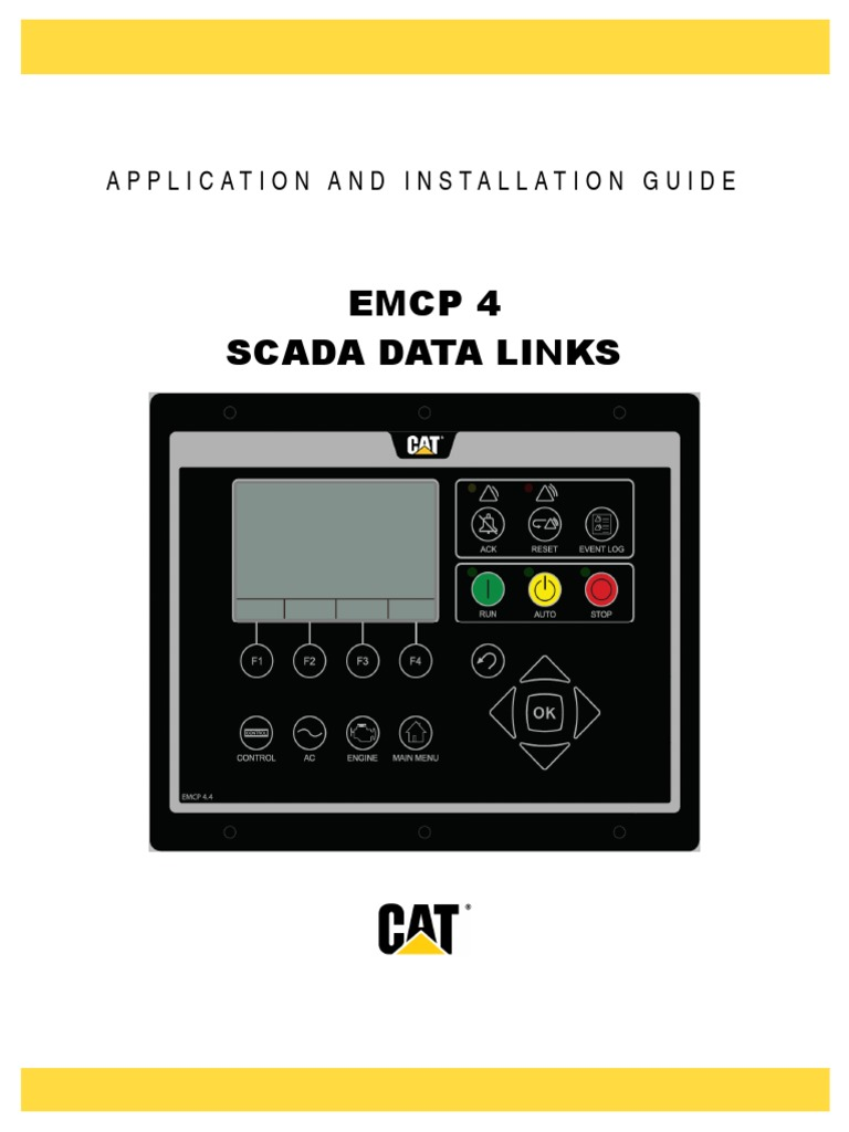 emcp4 ai pdf ac power computer network rh scribd com EMCP 1 cat emcp 4 manual