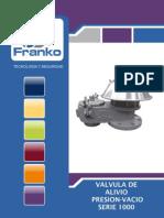 Válvula De Alivio De Presión Y Vacío FRANKO