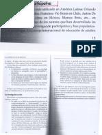 La investigacion participativa de López-Promoción Cultural