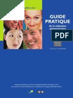Guide de La Redaction Administrative