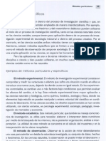 Los Metodos Especificos-De La Mora 2006