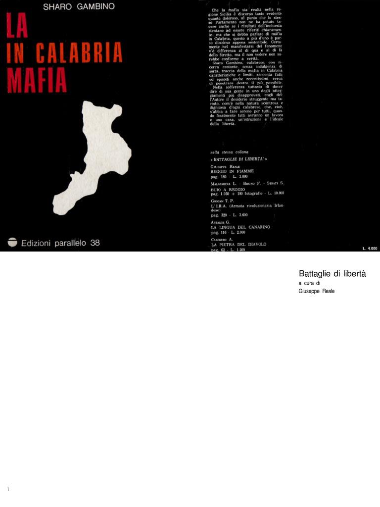 CalabriaSicilian Gambino Mafia In Sharo La A4LqcR3j5