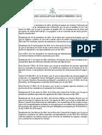 Novedades Legislativas Enero y Febrero 2014 ANB ABOGADOS