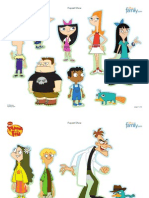 Phineas Ferb Puppet Show