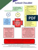 H1N1 School Checklist