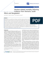 2011_Reductions in Abortion-related Mortality Following Policy Reform-- Evidence