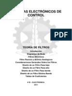 Teoria de Filtros 2011