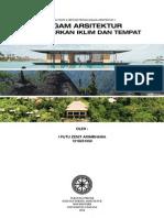 Ragam Arsitektur Berdasarkan Iklim & Tempat   Revisi