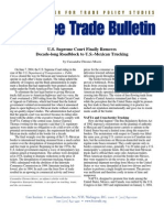 U.S. Supreme Court Finally Removes Decade-long Roadblock to U.S.-Mexican Trucking, Cato Free Trade Bulletin No. 13