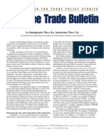 As Immigrants Move In, Americans Move Up, Cato Free Trade Bulletin No. 38