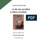 7645039 Dostoyevskii Fiodor M Diario de Un Escritor y Otros Escritos