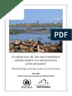 Evaluacion de Las Necesidades Ambientales Post Desastre