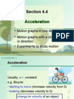 Section 4.4 Acceleration