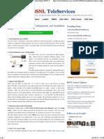 BSNL Broadband Modem Configuaration and Installation Guide _ BSNL TeleServices