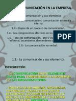 UD1 - LA COMUNICACIÓN EN LA EMPRESA