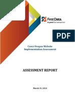 Cover Oregon Assessment