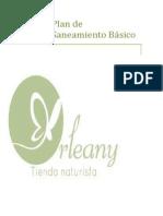 Plan Saneamiento Basico TIENDA NATURISTA
