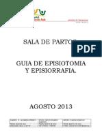 Guia de Episiotomia y Episiorrafia 2013 (1)