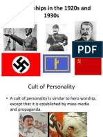 dictatorships in the 1920s and 1930s