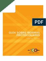 Manual ODECABE - GUÍA SOBRE NORMAS PROTOCOLARIAS